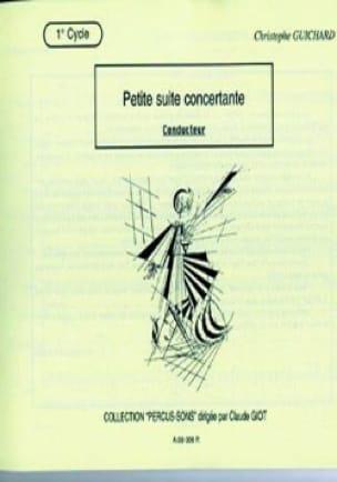 Christophe Guichard - Small Complete Concertante Suite - Sheet Music - di-arezzo.com