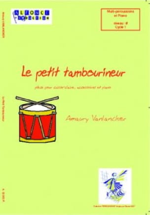 Amaury Vanlancker - The Little Tambouriner - Sheet Music - di-arezzo.com