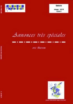 Eric Thievon - Annonces Très Spéciales - Partition - di-arezzo.fr