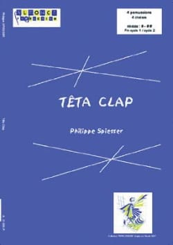Philippe Spiesser - Teta clap - Sheet Music - di-arezzo.co.uk