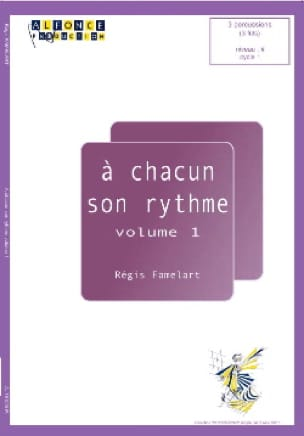 Régis Famelart - To Each His Rhythm Volume 1 - Sheet Music - di-arezzo.com