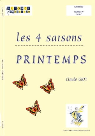Claude Giot - Les 4 Saisons - Printemps - Partition - di-arezzo.fr