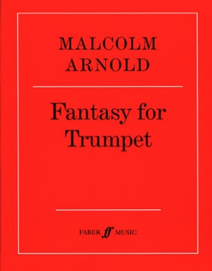 Fantasy for trumpet opus 100 Malcolm Arnold Partition laflutedepan