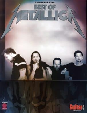 Metallica - Best Of Metallica - Partition - di-arezzo.fr