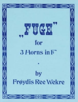 Fugue - Froydis Ree Wekre - Partition - Cor - laflutedepan.com