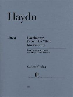 Konzert Für Horn D-Dur HAYDN Partition Cor - laflutedepan