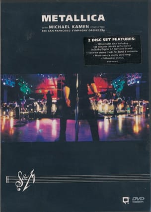 Metallica - DVD - S & M - Partition - di-arezzo.fr