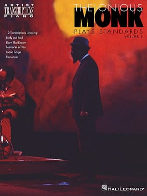 Plays Standards Volume 2 Thelonious Monk Partition Jazz - laflutedepan