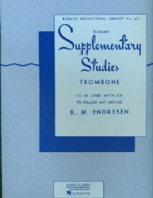 R.M. Endresen - Supplementary Studies - Partition - di-arezzo.fr