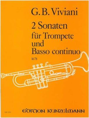 2 Sonates Giovanni Bonaventura Viviani Partition laflutedepan