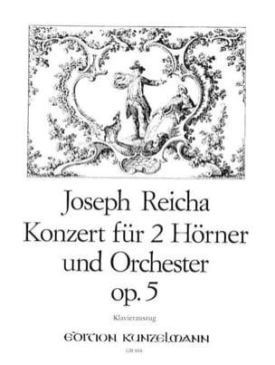 Joseph Reicha - Konzert Für 2 Hörner Opus 5 - Partition - di-arezzo.fr