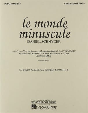 Daniel Schnyder - The Tiny World - Sheet Music - di-arezzo.com