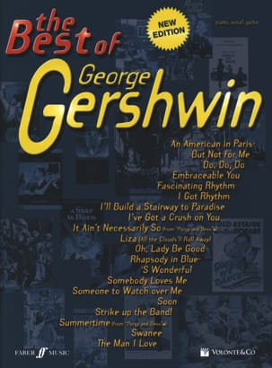 The Best Of George Gershwin George Gershwin Partition laflutedepan