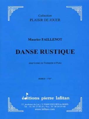 Danse Rustique Maurice Faillenot Partition Trompette - laflutedepan