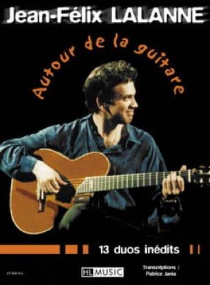 Autour de la Guitare Jean-Félix Lalanne Partition laflutedepan