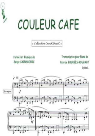 Serge Gainsbourg - Coffee color - Sheet Music - di-arezzo.co.uk