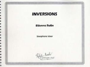 Etienne Rolin - Inversions - Partition - di-arezzo.fr