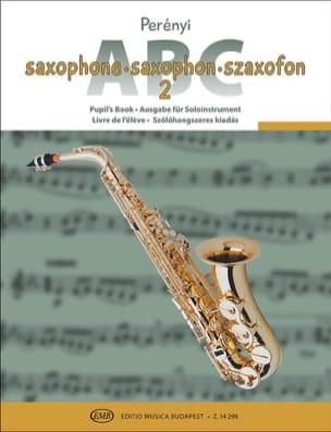 Saxophone ABC volume 2 - Partition - Saxophone - laflutedepan.com