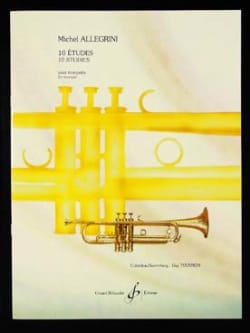 Michel Allegrini - 10 Studies - Sheet Music - di-arezzo.co.uk