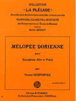 Mélopée Dorienne - Yvonne Desportes - Partition - laflutedepan.com