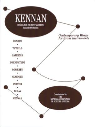 Kent Kennan - Sonata For Trumpet - Sheet Music - di-arezzo.com