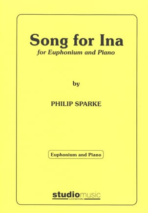 Song For Ina Philip Sparke Partition Tuba - laflutedepan