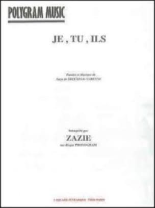 Zazie - I, you, they - Sheet Music - di-arezzo.co.uk
