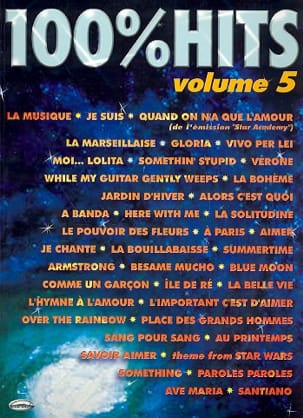 - 100% hits volume 5 - Sheet Music - di-arezzo.com