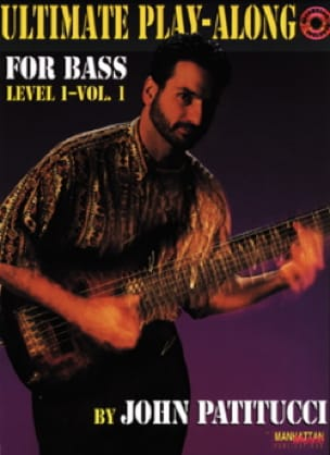 John Patitucci - Ultimate Play Along For Bass Level 1 Volume 1 - Sheet Music - di-arezzo.co.uk