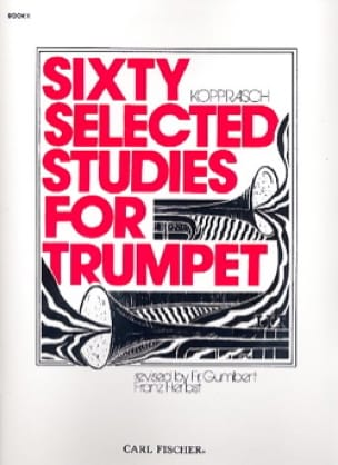 Georg Kopprasch - 60 Selected Studies for Trumpet Volume 2 - Sheet Music - di-arezzo.co.uk