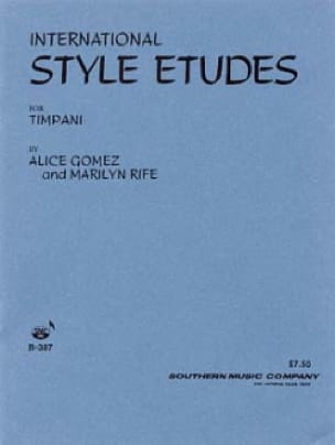Alice Gomez - International Style Etudes Volume 1 - Partition - di-arezzo.fr