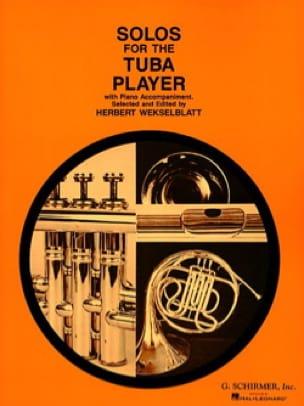 Solos For The Tuba Player Partition Tuba - laflutedepan