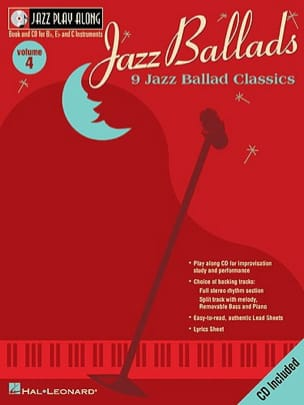 - Jazz play-along volume 4 - Jazz Ballads - Sheet Music - di-arezzo.co.uk