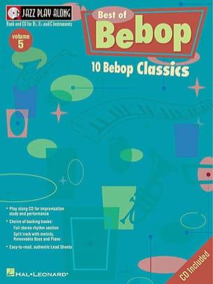 Jazz play-along volume 5 - The Best Of Bebop - laflutedepan.com