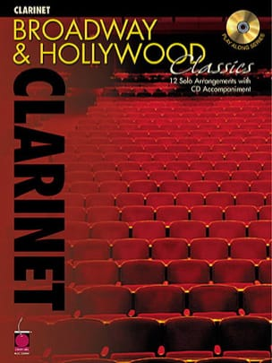 Broadway And Hollywood Classics Partition Clarinette - laflutedepan