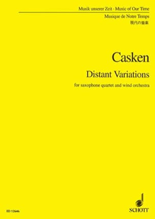 John Casken - Distant Variations - Conducteur - Partition - di-arezzo.fr
