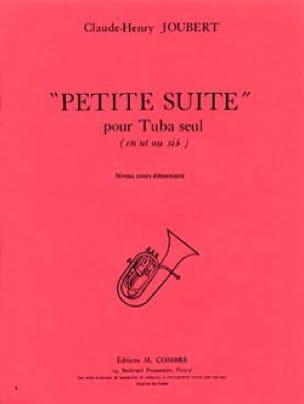 Petite Suite Claude-Henry Joubert Partition Tuba - laflutedepan