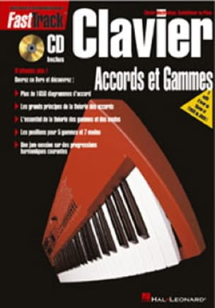 Neely B. / Meisner G. - Fast Track - Accords Et Gammes Pour Clavier - Partition - di-arezzo.fr