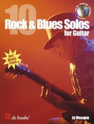 Ed Wennink - 10 Rock - blues solos for guitar - Sheet Music - di-arezzo.co.uk