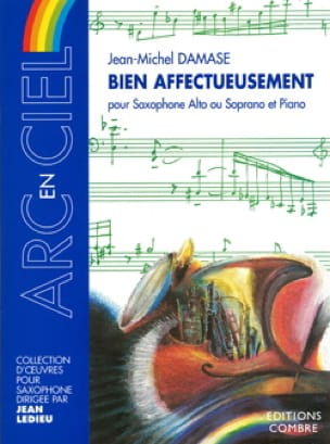 Jean-Michel Damase - Bien Affectueusement - Partition - di-arezzo.fr
