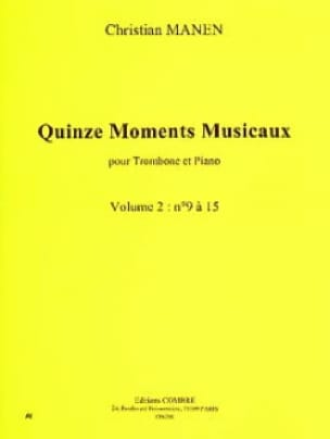 Quinze Moments Musicaux Volume 2 9 à 15) - laflutedepan.com