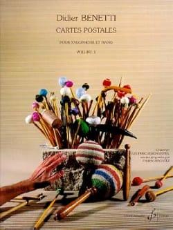 Didier Benetti - Cartes Postales Volume 1 - Partition - di-arezzo.fr