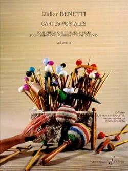 Didier Benetti - Cartes Postales Volume 3 - Partition - di-arezzo.fr