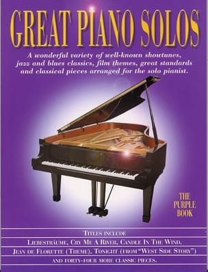 - Great piano solos - The purple book - Partition - di-arezzo.fr