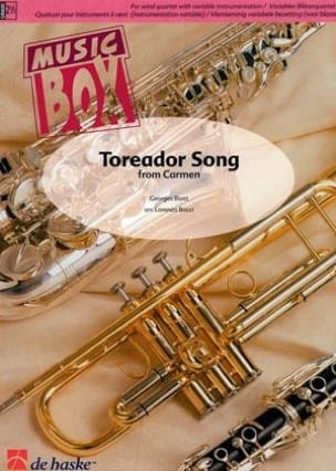 BIZET - Toreador song from carmen - music box - Sheet Music - di-arezzo.com