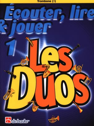 DE HASKE - Play Play and Play - The Duos Volume 1 - 2 Trombones - Sheet Music - di-arezzo.co.uk
