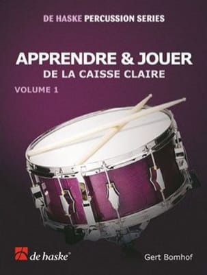 Gert Bomhof - Learn - Play Snare Volume 1 - Sheet Music - di-arezzo.co.uk