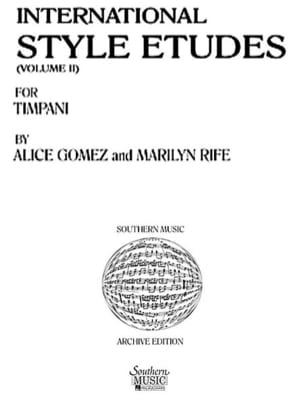 Alice Gomez - International Style Etudes Volume 2 - Partition - di-arezzo.fr