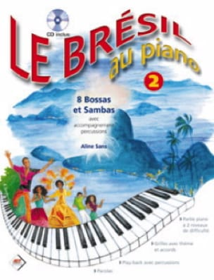 Aline Sans - Brazil At Piano Volume 2 - Sheet Music - di-arezzo.co.uk