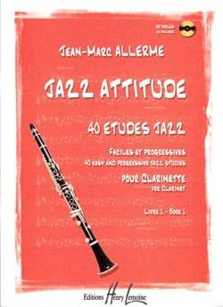 Jean-Marc Allerme - Jazz Attitude Livre 1 - Partition - di-arezzo.fr